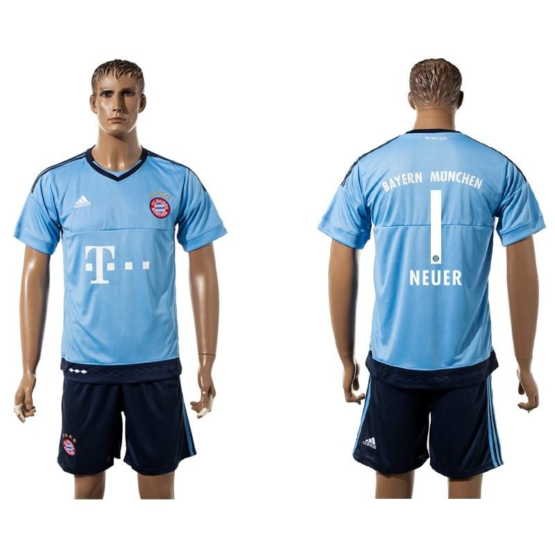 online retailer f3f61 dcc59 Bayern Munich #1 Goalkeeper NEUER Jersey