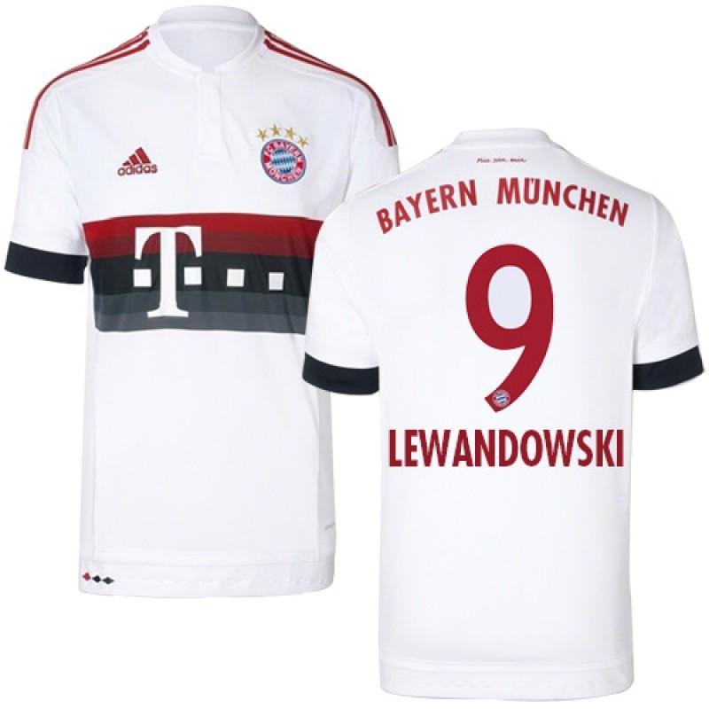 online retailer ba91f 94881 15/16 Germany FC Bayern Munchen Shirt - #9 Robert ...