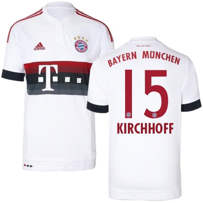new style c467c 5fec8 15/16 Germany FC Bayern Munchen Shirt - #15 Jan Kirchhoff ...