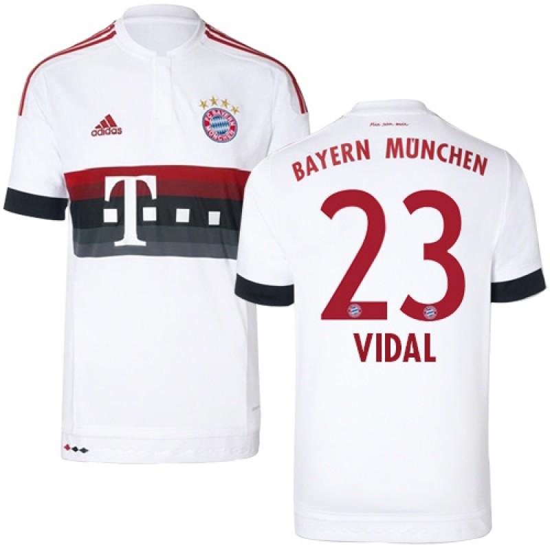 new style fdbf9 588b3 15/16 Germany FC Bayern Munchen Shirt - #23 Arturo Vidal ...