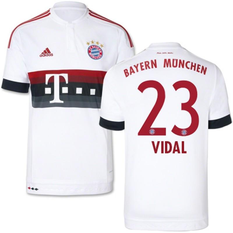 super popular d5c6c e6d92 15/16 Germany FC Bayern Munchen Shirt - #23 Youth Arturo ...