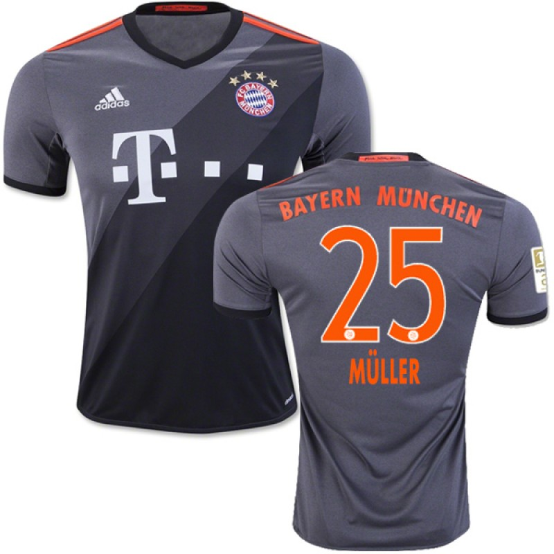 youth away soccer jersey 2015 argentina messi jerseys 1617 bayern munich 25 thomas muller authentic
