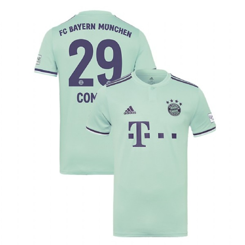 fa1bb6da8 Bayern Munich 2018/19 Away #29 Kingsley Coman Light Green Replica Jersey