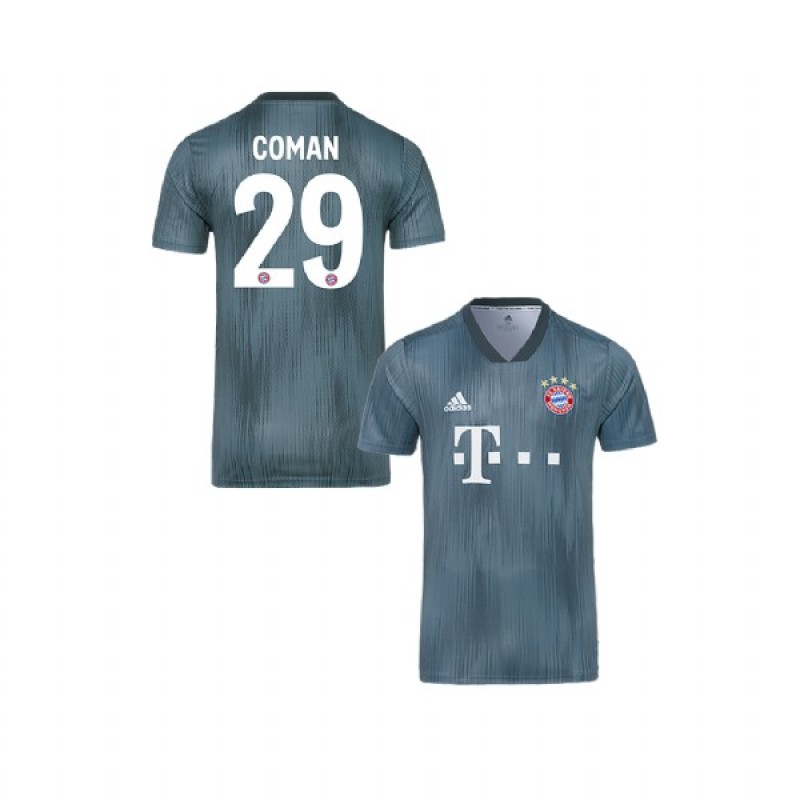 outlet store 9cb60 62d85 Kingsley Coman Bayern Munich 2018/19 Gray Youth Third Jersey