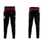 Bayern Munich Black & Red Training Sweat Pants