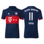 Men - Douglas Costa #11 Bayern Munich 2017/18 Navy Blue Away Replica Shirt