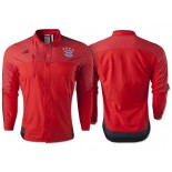 Bayern Munich Anthem Button Jacket - Red