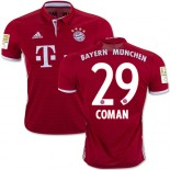 16/17 Bayern Munich #29 Kingsley Coman Authentic Red Home Jersey