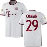 16/17 Bayern Munich #29 Kingsley Coman Authentic White Third Jersey