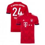 Bayern Munich 2018/19 Home #24 Corentin Tolisso Red Authentic Jersey Jersey