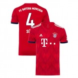 Bayern Munich 2018/19 Home #4 Niklas Sule Red Authentic Jersey Jersey