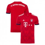 Bayern Munich 2018/19 Home Red Authentic Jersey Jersey