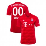 2019-20 Bayern Munich #00 Custom Red Home Authenitc Jersey