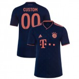 2019-20 Bayern Munich Champions League #00 Custom Navy Third Authenitc Jersey