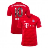 2019-20 Bayern Munich Special Font #10 Arjen Robben Red Home Authenitc Jersey