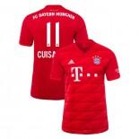 2019-20 Bayern Munich Stadium #11 Mickael Cuisance Red Home Authenitc Jersey