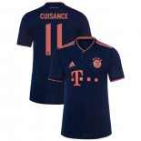 2019-20 Bayern Munich Champions League #11 Mickael Cuisance Navy Third Authenitc Jersey