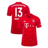 2019-20 Bayern Munich #13 Rafinha Red Home Replica Jersey