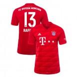 2019-20 Bayern Munich #13 Rafinha Red Home Authenitc Jersey