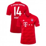 2019-20 Bayern Munich #14 Ivan Perisic Red Home Authenitc Jersey
