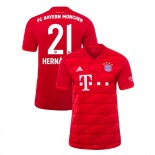 2019-20 Bayern Munich #21 Lucas Hernandez Red Home Replica Jersey