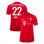 2019-20 Bayern Munich #22 Serge Gnabry Red Home Authenitc Jersey