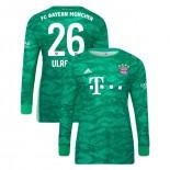 2019-20 Bayern Munich Goalkeeper Home #26 Sven Ulreich Green Replica Jersey