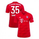 2019-20 Bayern Munich #35 Renato Sanches Red Home Replica Jersey