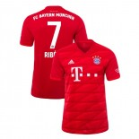 2019-20 Bayern Munich #7 Franck Ribery Red Home Replica Jersey