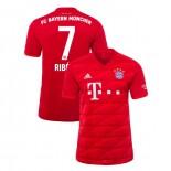 2019-20 Bayern Munich #7 Franck Ribery Red Home Authenitc Jersey
