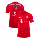 2019-20 Bayern Munich Special Font #7 Franck Ribery Red Home Replica Jersey