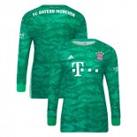 2019-20 Bayern Munich Goalkeeper Home Green Authenitc Jersey