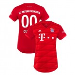 Women's Bayern Munich 2019-20 Home #00 Custom Red Authenitc Jersey