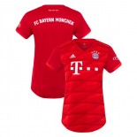 Women's 2019-20 Bayern Munich Home Red Authenitc Jersey