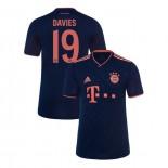 KID'S Bayern Munich 2019-20 Third Champions League #19 Alphonso Davies Navy Replica Jersey