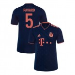 KID'S Bayern Munich 2019-20 Third Champions League #5 Benjamin Pavard Navy Authenitc Jersey