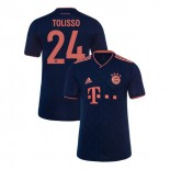 KID'S Bayern Munich 2019-20 Third Champions League #24 Corentin Tolisso Navy Replica Jersey