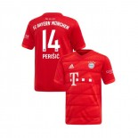 KID'S Bayern Munich 2019-20 Home #14 Ivan Perisic Red Authenitc Jersey