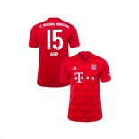 KID'S Bayern Munich 2019-20 Home #15 Jann-Fiete Arp Red Authenitc Jersey
