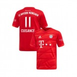 KID'S Bayern Munich 2019-20 Home Stadium #11 Mickael Cuisance Red Replica Jersey