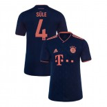 KID'S Bayern Munich 2019-20 Third Champions League #4 Niklas Sule Navy Replica Jersey