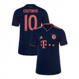 KID'S Bayern Munich 2019-20 Third Champions League #10 Philippe Coutinho Navy Authenitc Jersey