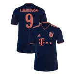 KID'S Bayern Munich 2019-20 Third Champions League #9 Robert Lewandowski Navy Authenitc Jersey